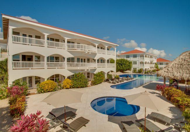 Belize Ocean Club a beachfront resort in placencia belize