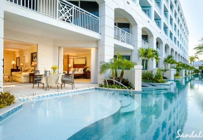 Rooms at sandals royal bahamian