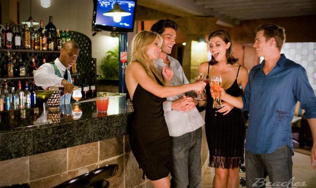bars at beaches resorts