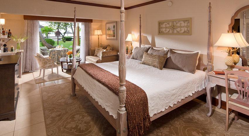Caribbean Honeymoon Beachfront Grande Luxe Walkout Club Level Room - HWGB