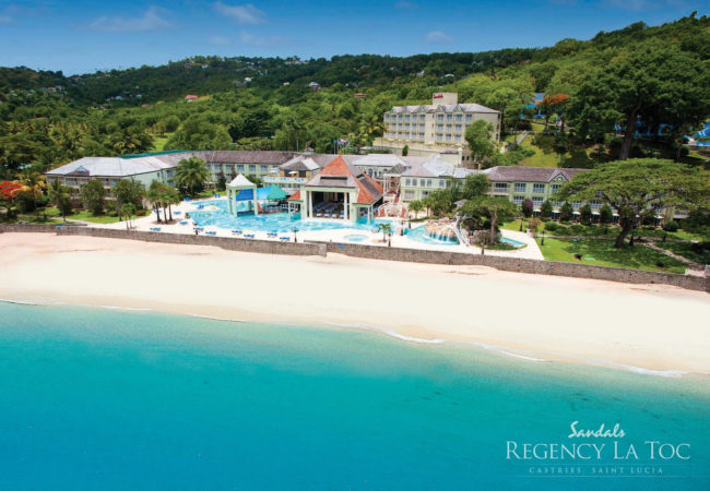 Sandals Regency La Toc- Castries, St Lucia