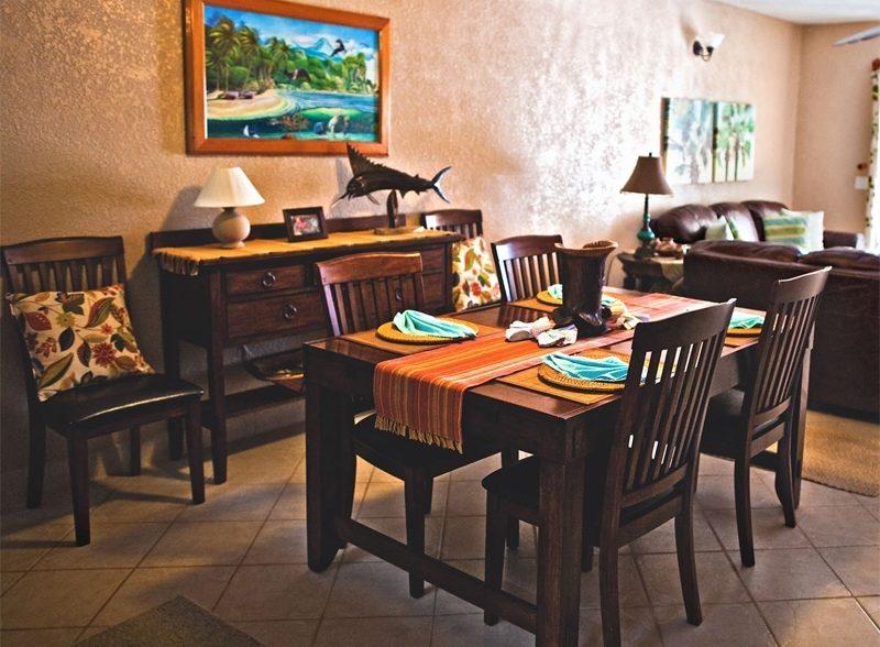 three bedroom garden view suites at pelican reef villas belize