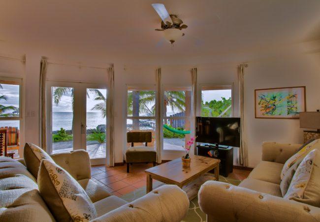 Ocean Front Two Bedroom Suite at xanadu island resort belize