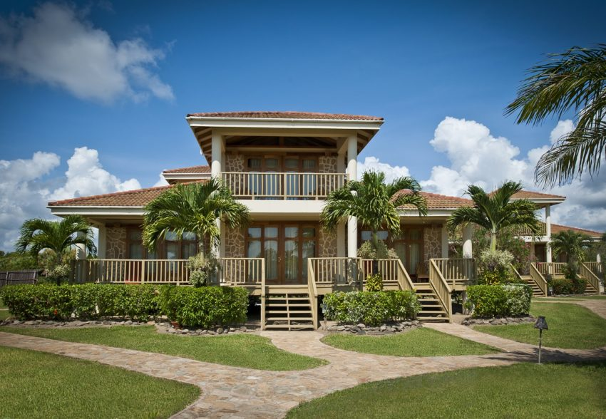 three bedroom villa rental at hopkins bay resort belize