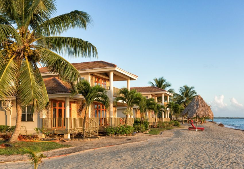 three bedroom beachfront villas at hopkins bay resort belize