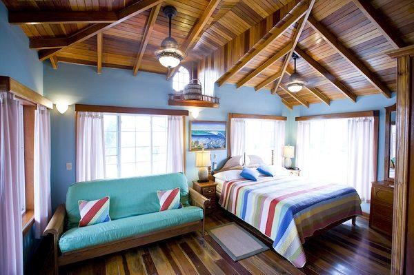 partial ocean view rooms at blue tang inn belize