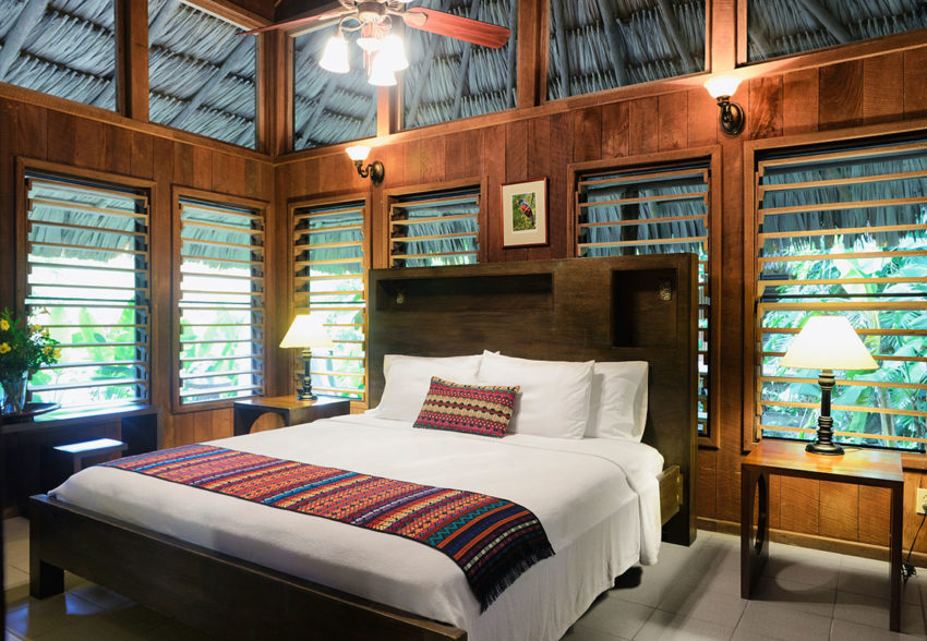 Deluxe Cottages at belize chan chich lodge in northern belize