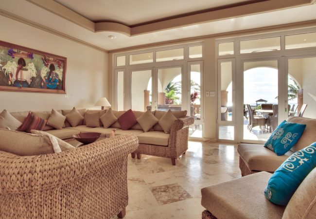 Caribbean Soul Villa living
