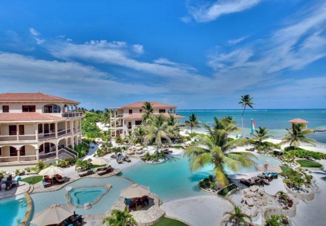 coco beach resort on the island ambergris caye
