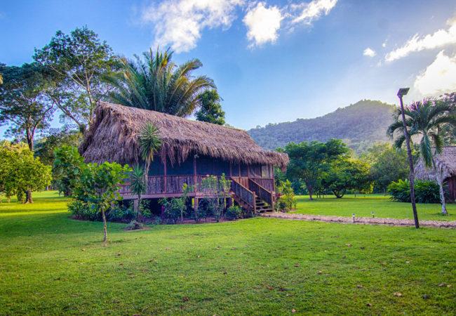 bocawina rainforest resort at mayflower national park in stann creek belize