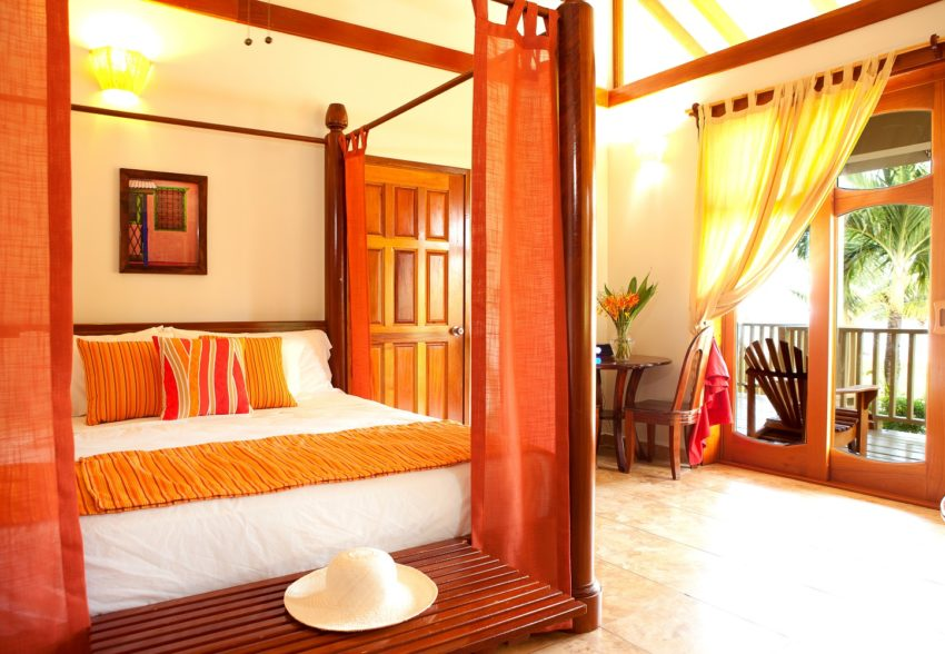 two bedroom beachfront rooms at hopkins bay resort belize