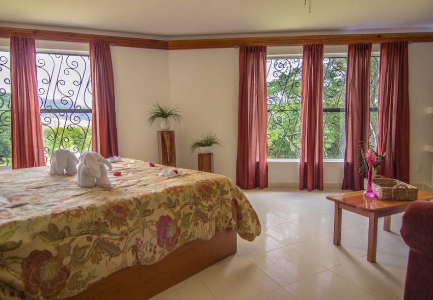 sunset suite at bocawina rainforest resort belize