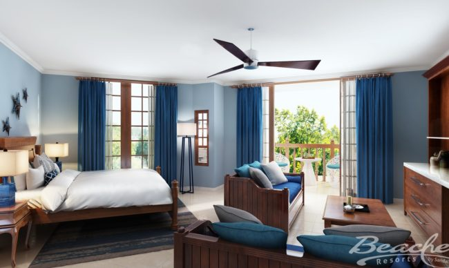 Tropical Beachfront Concierge Two-Bedroom Junior Suite - BSC at beaches negril