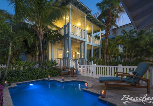 Key West Beachfront Four Bedroom Butler Villa Residence with Private Pool - 4VP