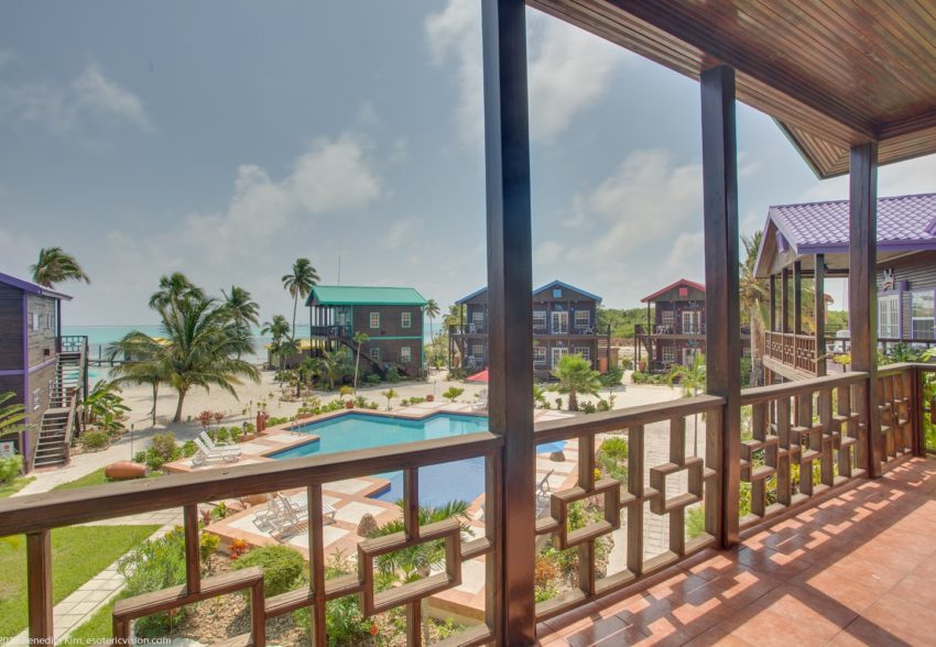 """pool view villa at x'tan ha """"the waterfront"""""""