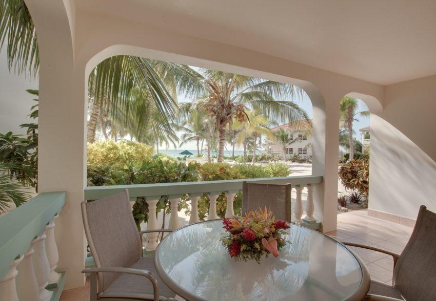 seafront lower level suites at belizean shores resort
