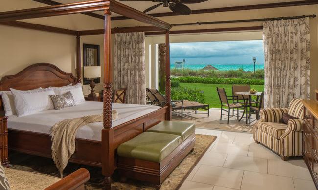 Italian Beachfront Two Bedroom Walkout Butler Family Suite - TWP