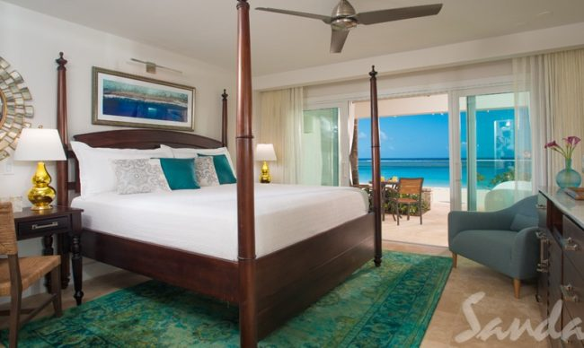 club level rooms at sandals royal caribbean