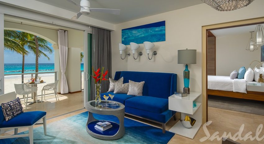 beachfront rooms at sandals royal barbados