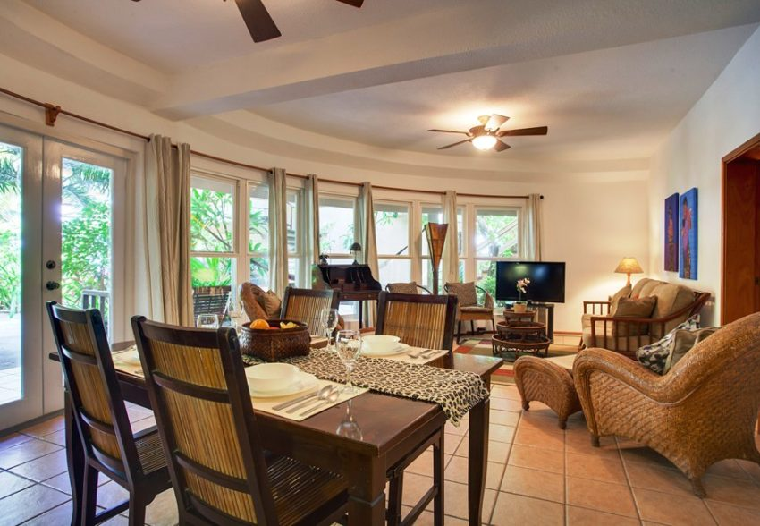 garden view two bedroom suite at xanadu island resort belize