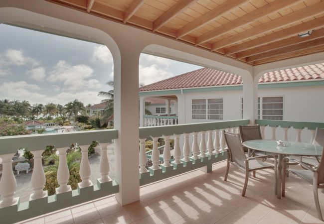Pool View- Upper Level Suite at belizean shores resort