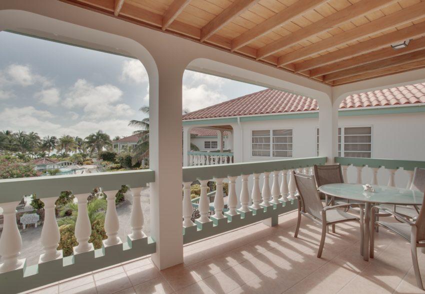 Pool View- Upper Level Suite at belizean shores resort