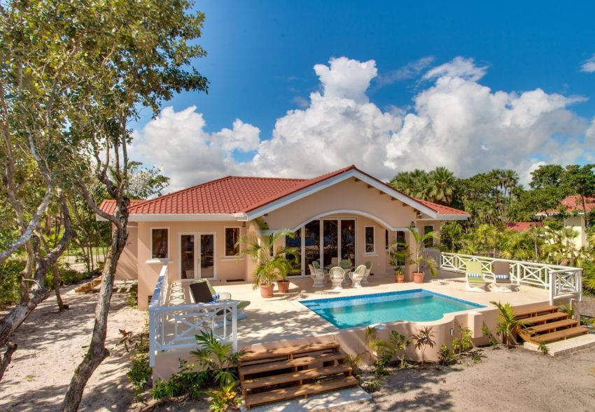 Two Bedroom Beach House with Pool at naia resort belize