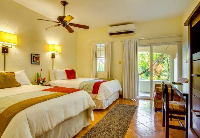 the garden rooms at san ignacio resort hotel