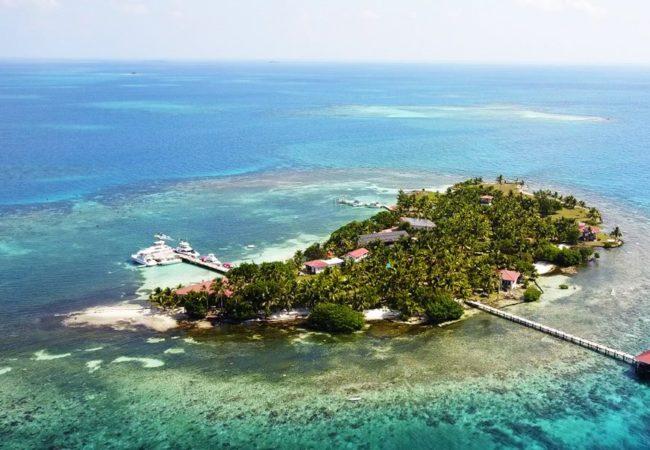 Hatchet Caye Island Resort, a belize private island in southern belize