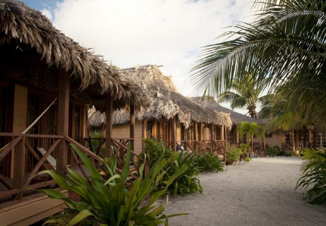 beach cabanas at portofino beach resort san pedro