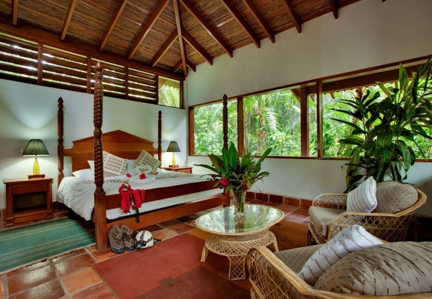 jungle bungalows at cave branch lodge belize