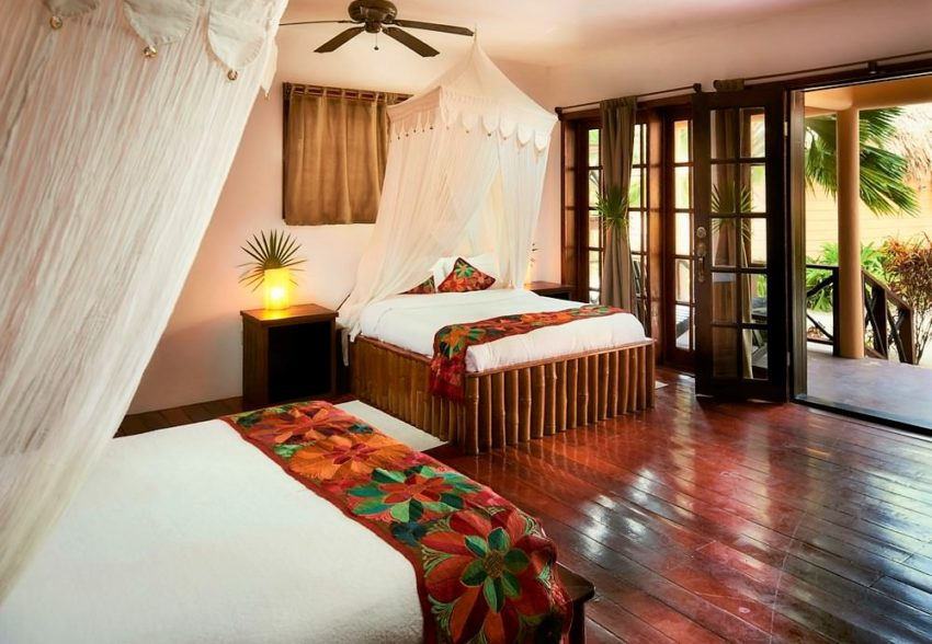 colonial suites at portofino beach resort ambergris caye belize