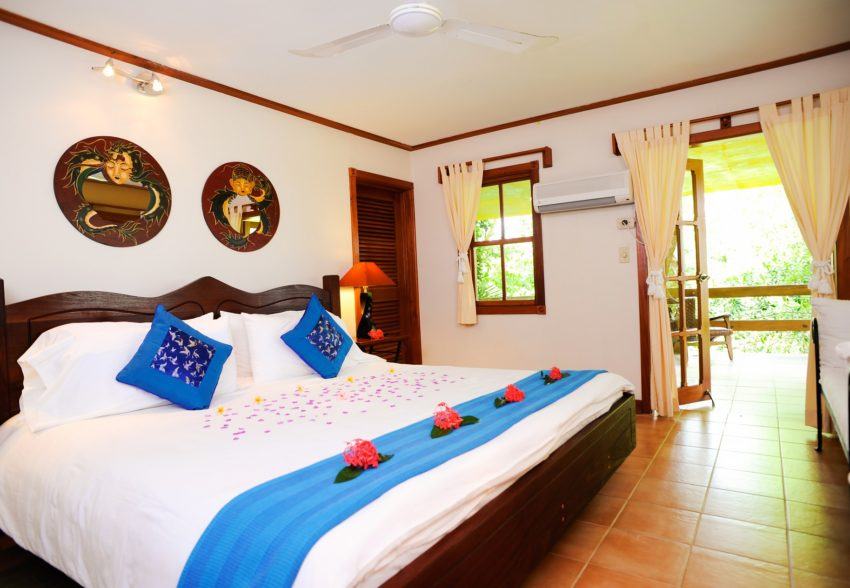 the spa villa at chaa creek belize