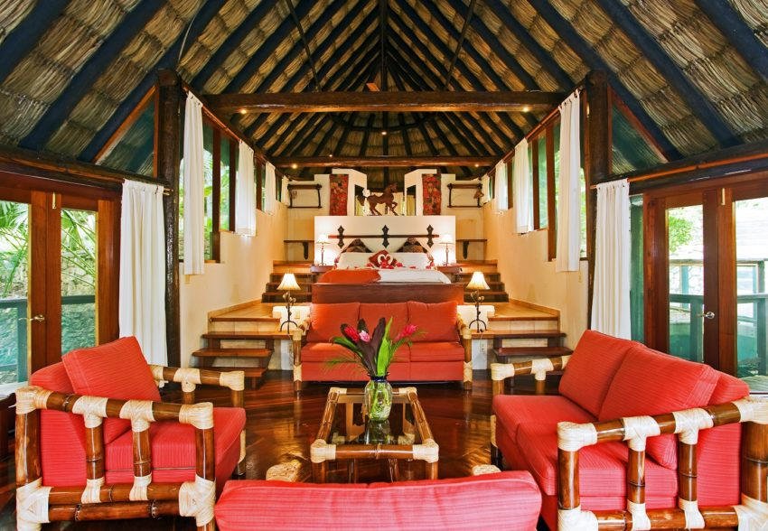 the luxurious treetop suites at chaa creek