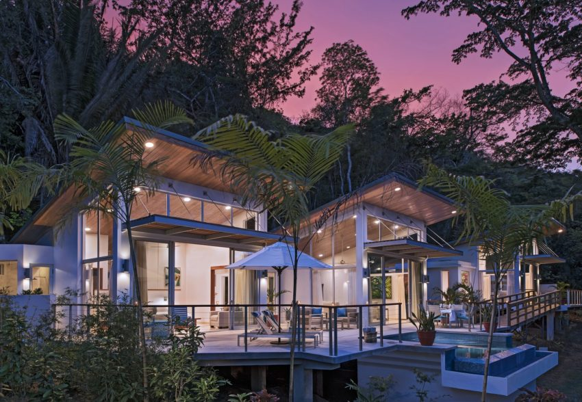 the most luxurious villas at the lodge at chaa creek belize