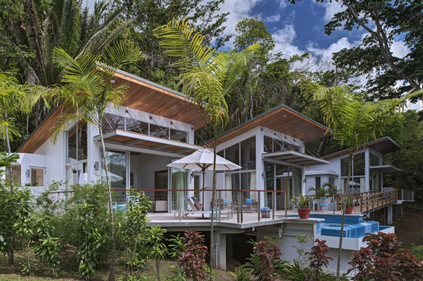 chaa creek lodge new luxury villas with pool in the jungle of belize