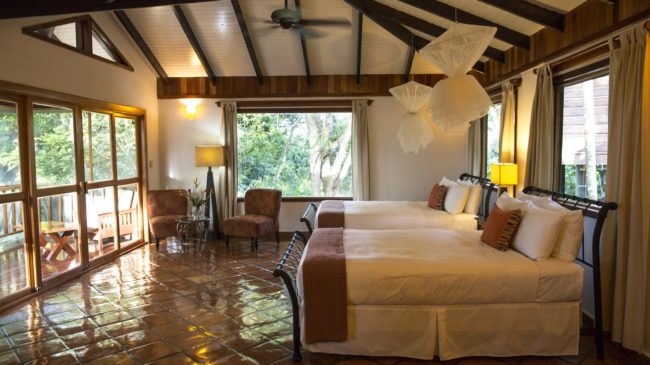 queen jungle suite at copal tree lodge belize