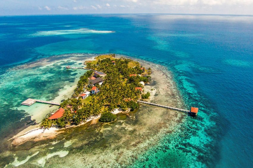 ray caye island resort, a private island resort in belize