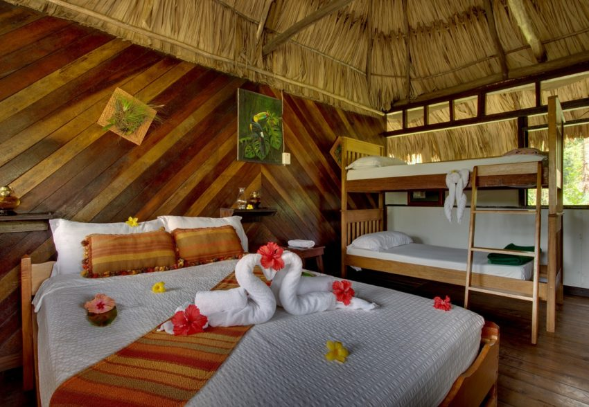 jungle cabanas at cave branch lodge belize