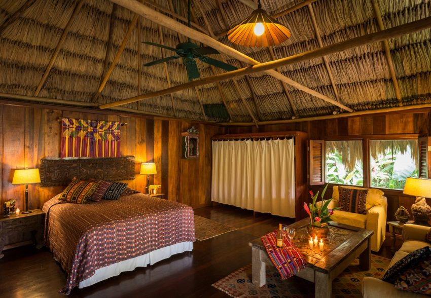 family cabana at blancaneaux lodge belize