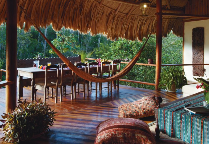 blancaneaux lodge belize luxury resorts