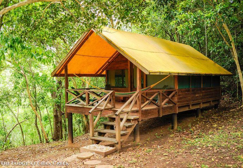 macal river camping at chaa creek lodge