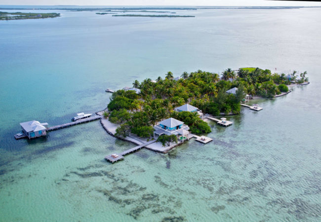 belize private island resorts in the caribbean