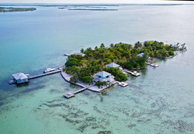 cayo espanto island rental, a private island rental in belize