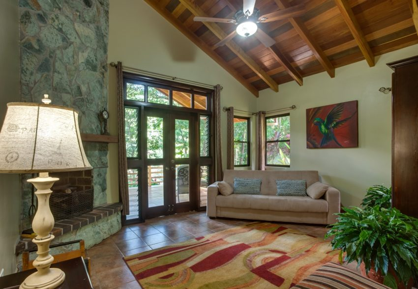 two bedroom riverview suite at mystic river resort western belize
