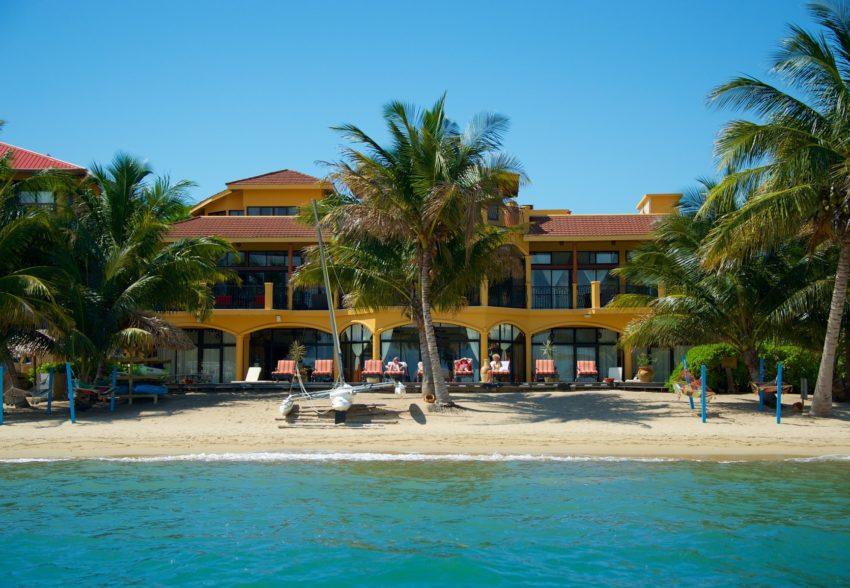 villa verano beachfront rental a in hopkins, belize
