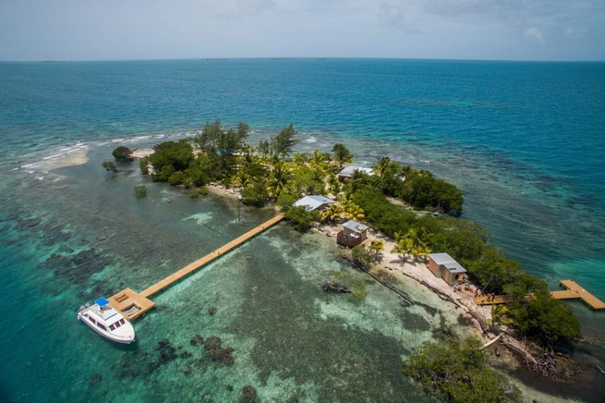 Coral Caye Island, A Francis Ford Retreat