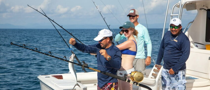 Deep Sea fishing in belize