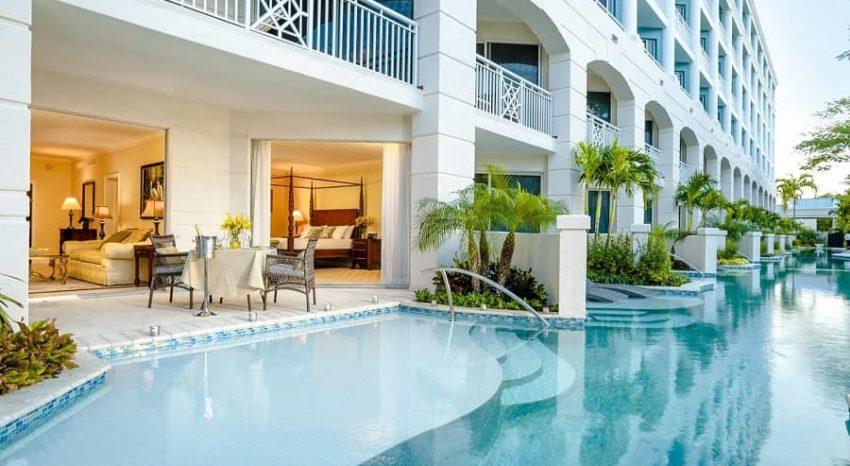 Windsor Honeymoon Hideaway Swim Up Crystal Lagoon Zen One Bedroom Butler Suite, Sandals Royal Bahamian