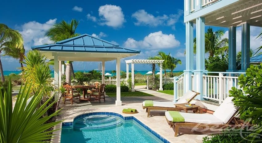 accommdations at the key west village in beaches turks & caicos